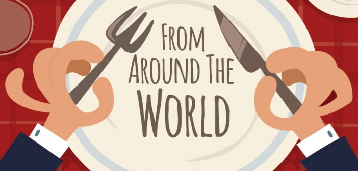 Dining Around the World, What Etiquette is Polite in Which Country?
